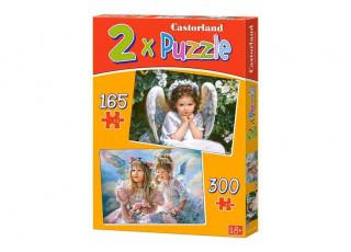 Пазл 2 в 1 Ангелочки, 165, 300 эл.