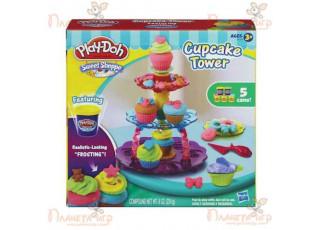 Набор для лепки Play-Doh. Башня из кексов