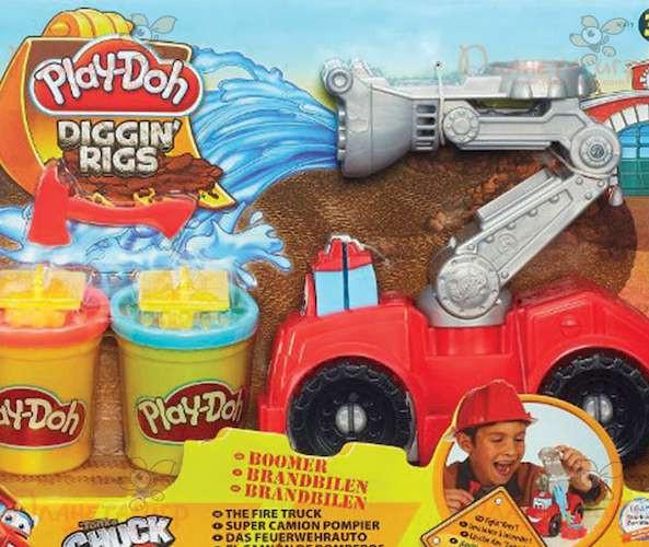 Набор для лепки Play-Doh. Бумер: Пожарная машина