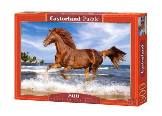 Пазл Конь на пляже, 500 эл.