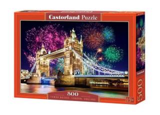 Пазл Тауэрский мост, Лондон, Великобритания, 500 эл.