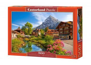 Пазл Кандерштег, Швейцария, 500 эл.