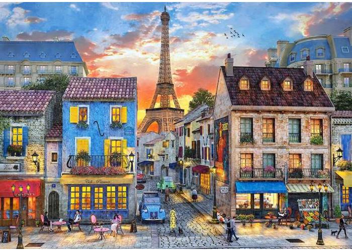 Пазл Улицы Парижа, 500 эл.