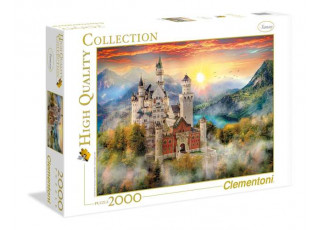 Пазл Замок Нойшванштайн в тумане, 2000 эл.