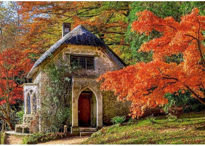 Пазл Готический дом осенью, 500 эл.