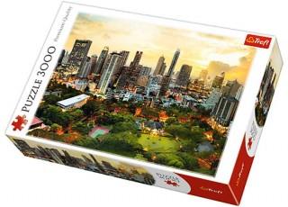 Пазл Закат в Бангкоке, Тайланд, 3000 эл.