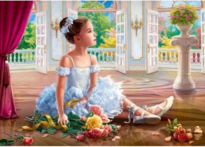 Пазл Маленькая балерина, 500 эл.