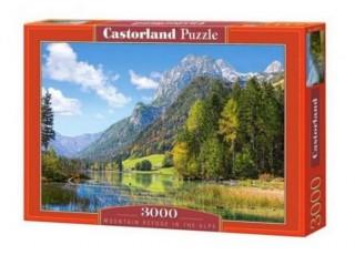 Пазл Горный пейзаж в Альпах, Италия, 3000 эл.