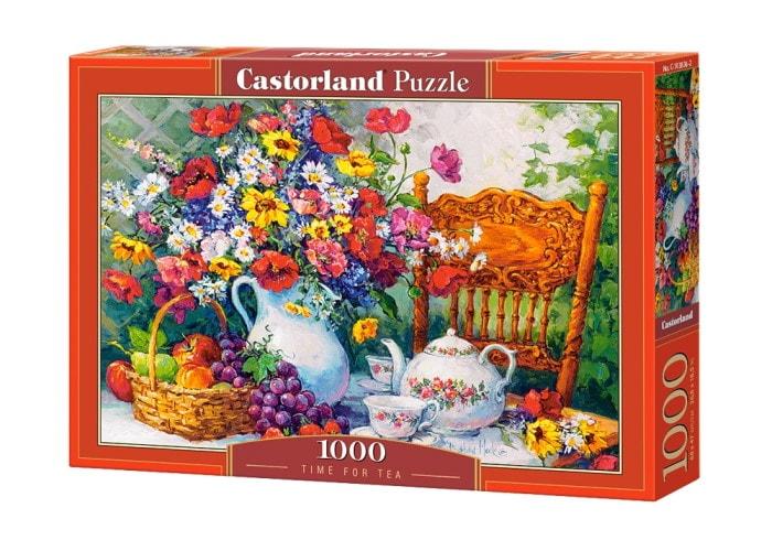 Пазл Чаепитие в саду, 1000 эл.
