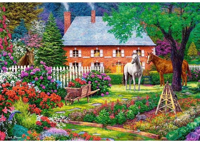 Пазл Чудесный сад, 1500 эл.
