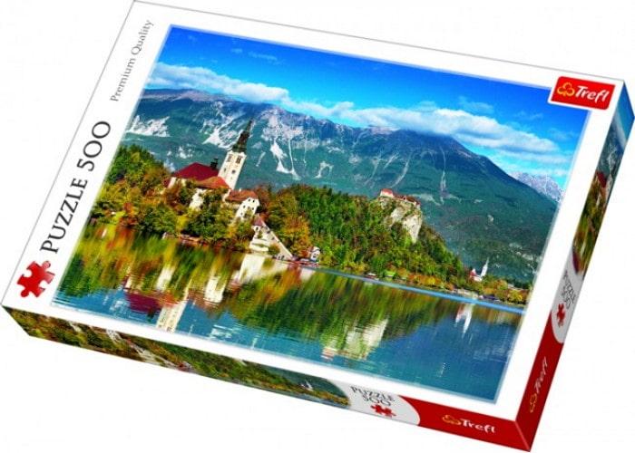 Пазл Озеро Блед, Словения, 500 эл.