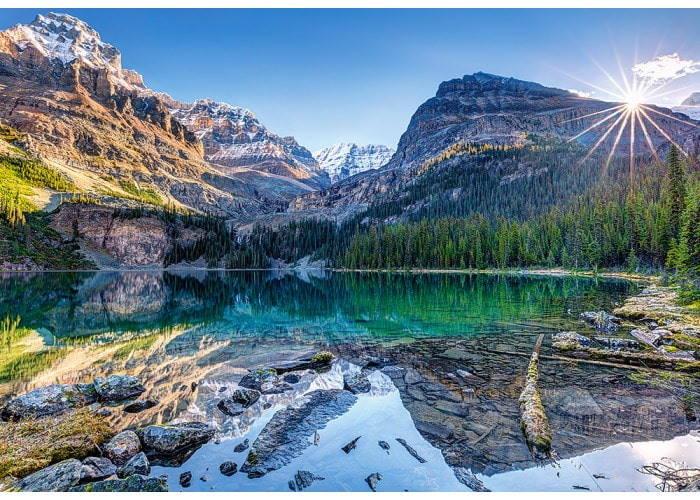 Пазл Озеро О'Хара, Канада, 1000 эл.