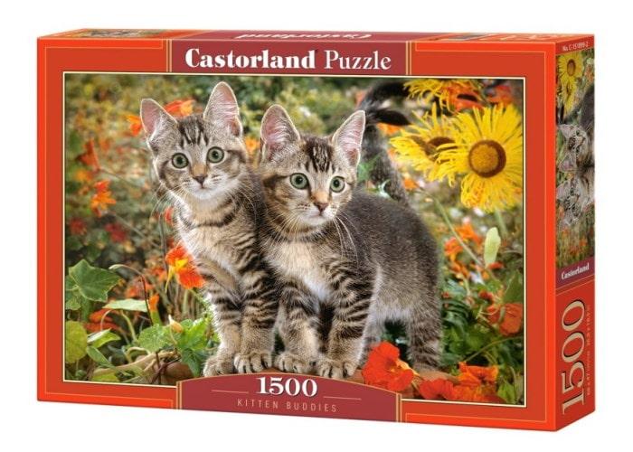Пазл Приятели котёнка, 1500 эл.
