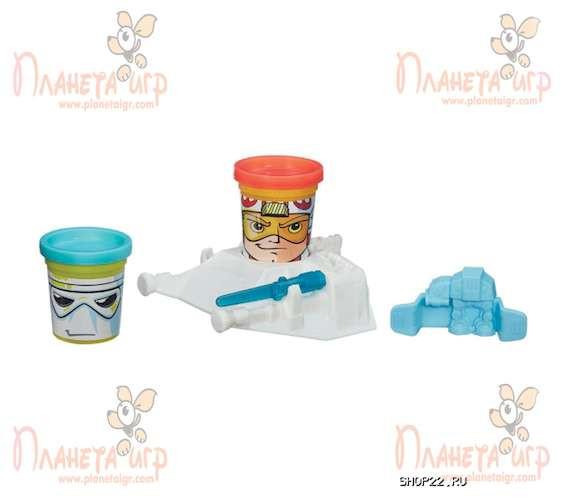 Набор для лепки Play-Doh. Герои Звёздных Войн (в ассорт.)
