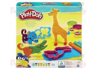 Набор для лепки Play-Doh. Веселое сафари