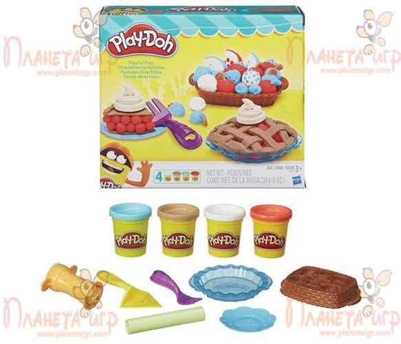 Набор для лепки Play-Doh. Ягодные тарталетки
