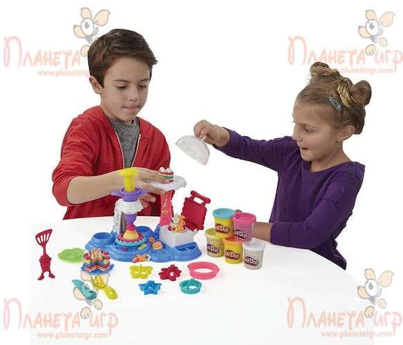 Набор для лепки Play-Doh. Сладкая вечеринка