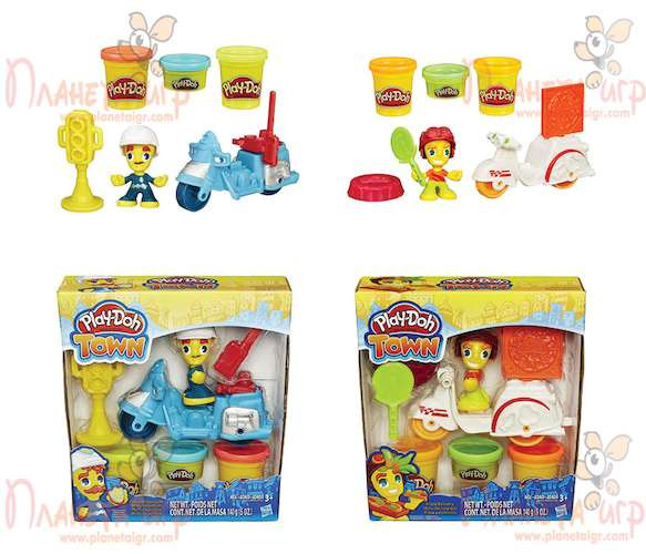 Набор для лепки Play-Doh Город. Транспортные средства (в ассорт.)