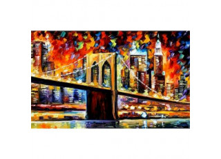 Раскраска по номерам Бруклинский мост (30х50)