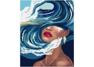 Раскраска по номерам. Чайные розы (40х50)