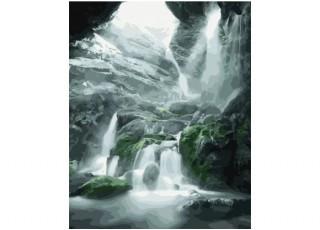 Раскраска по номерам Дары моря (40х50)