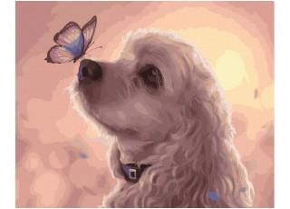 Раскраска по номерам Лето на море (40х50)