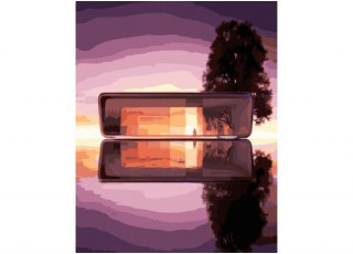 Раскраска по номерам Прекрасная Австрия (40х50)