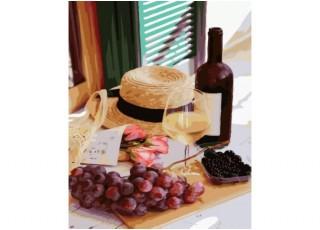 Раскраска по номерам. Сказочный жираф (40х50)