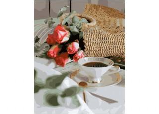 Раскраска по номерам. Птичий дом (40х50)