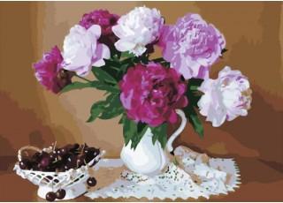 Раскраска по номерам Дерево мечты (40х50)