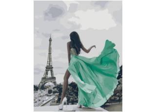Раскраска по номерам Гапчинская Мой нежный ангел (40х50)