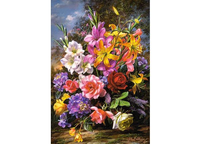 Пазл Ваза с цветами, 1000 эл.