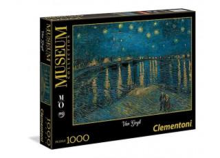 Пазл Museum Collection Звёздная ночь над Роной, Ван Гог, 1000 эл.