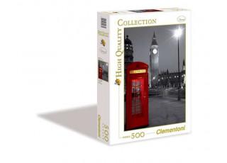 Пазл Лондонская телефонная будка, 500 эл.
