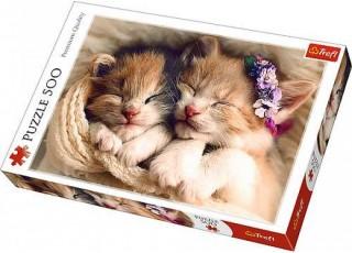 Пазл Спящие котята, 500 эл.