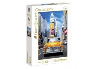 Пазл Такси на Тайм-Сквер, 500 эл.