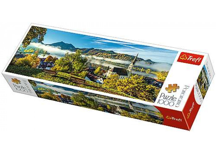 Пазл На берегу озера Шлирзе, Германия, 1000 эл. (панорама)