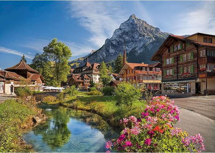 Пазл Альпы летом, 2000 эл.