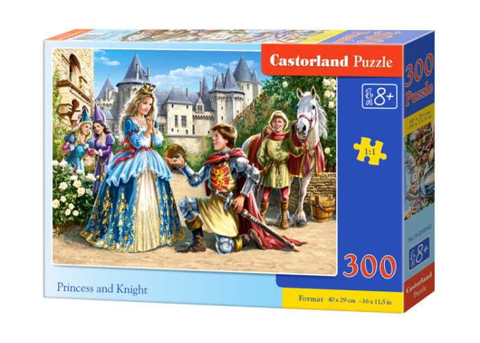 Пазл Принцесса и рыцарь, 300 эл.