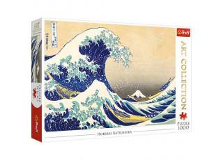 Пазл Большая волна в Канагаве, Кацусика Хокусай, 1000 эл.