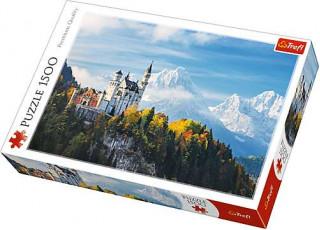 Пазл Баварские Альпы, 1500 эл.