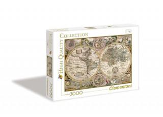 Пазл Старая карта, 3000 эл.