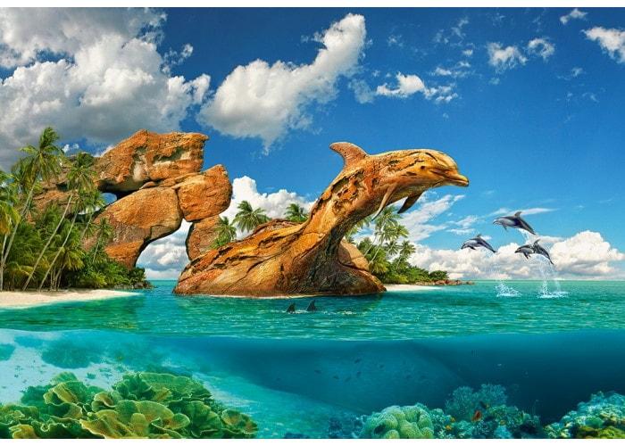 Пазл Дельфиний рай, 1000 эл.