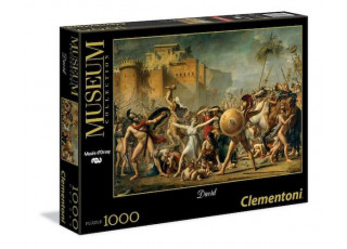 Пазл Museum Collection Сабинянки, останавливающие битву, Давид Жак Луи, 1000 эл.