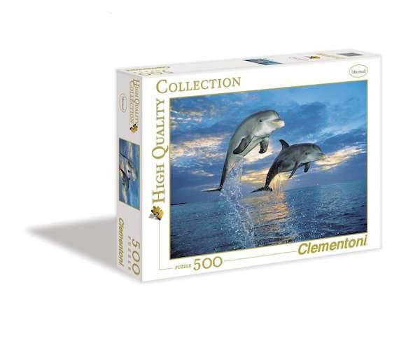 Пазл Дельфины, 500 эл.