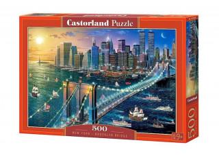 Пазл Бруклинский мост, Нью-Йорк, 500 эл.