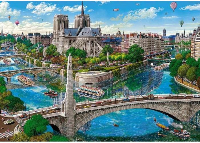 Пазл Нотр-Дам де Пари, Париж, 500 эл.