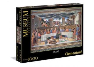 Пазл Museum Collection Тайная вечеря, Козимо Россели, 1000 эл.