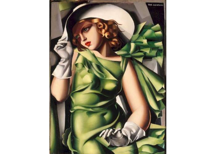 Пазл Museum Collection Девушка в перчатках, Тамара де Лемпицка, 1000 эл.