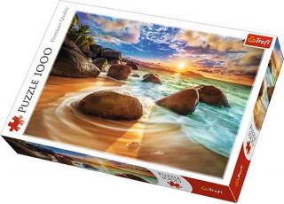 Пазл Пляж Самудра, Керала, Индия, 1000 эл.